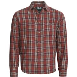 Arborwear Basswool Shirt - Cotton Flannel, Button Front, Long Sleeve (For Men) in Sumac