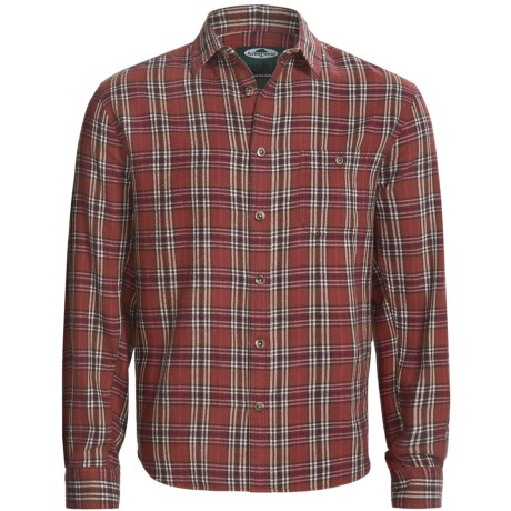 Arborwear Basswool Shirt - Cotton Flannel, Button Front, Long Sleeve (For Men) in Slate