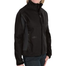 Arborwear Cambium Soft Shell Jacket - Fleece Lining (For Women) in Black - Closeouts