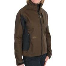 Arborwear Cambium Soft Shell Jacket - Fleece Lining (For Women) in Chestnut - Closeouts