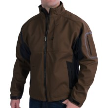 Arborwear Cambium Soft Shell Jacket (For Men) in Chestnut - Closeouts