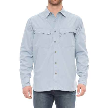 Arborwear Cypress Woven Tech Shirt - UPF 30+, Long Sleeve  (For Men) in River Blue - Closeouts