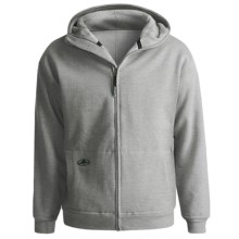 Arborwear Double-Thick Cotton Sweatshirt - Full Zip (For Men) in Grey - 2nds