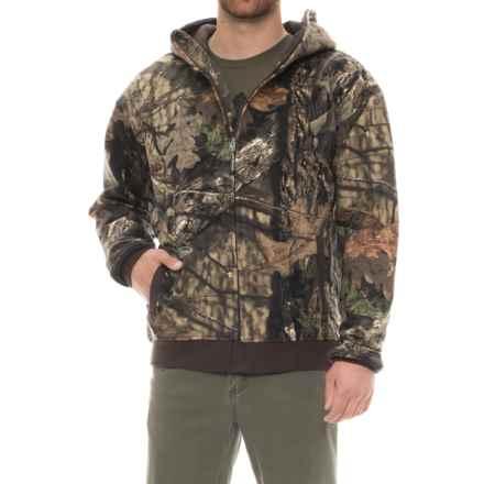 Arborwear Double Thick Sweatshirt Jacket (For Men) in Mossy Oak - Closeouts