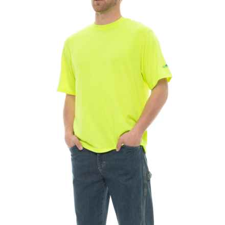 Arborwear Tech Wicking T-Shirt - Short Sleeve (For Men) in Safety Yellow - Closeouts