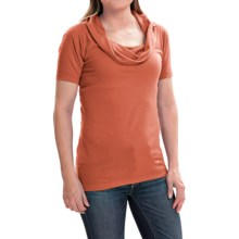Arc'teryx A2B Shirt - Cowl Neck, Short Sleeve (For Women) in Koi - Closeouts