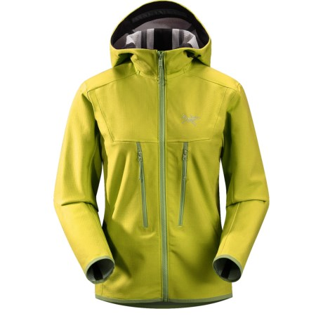 Arc'teryx Acto MX Jacket - Soft Shell (For Women) in Brimstone