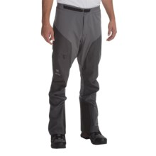 Arc'teryx Alpha Comp Pants - Waterproof (For Men) in Anvil Grey - Closeouts