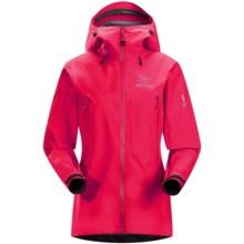 Arc'teryx Beta LT Gore-Tex® Jacket - Waterproof (For Women) in Vanda Orchid - Closeouts