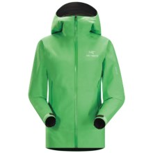 Arc'teryx Beta SL Gore-Tex® PacLite® Jacket - Waterproof (For Women) in Green Orchid - Closeouts