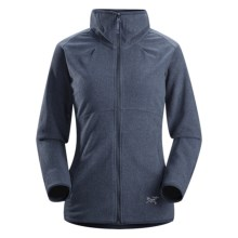 Arc'teryx Caliber Cardigan Jacket - Polartec® Classic Microfleece (For Women) in Blue Onyx - Closeouts