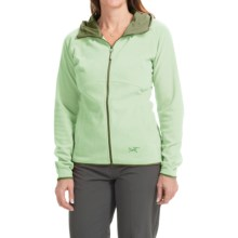 Arc'teryx Caliber Jacket - Polartec® Classic Microfleece (For Women) in Paradise - Closeouts