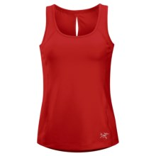 Arc'teryx Cita Tank Top - UPF 50+, Built-In Bra (For Women) in Grenadine - Closeouts