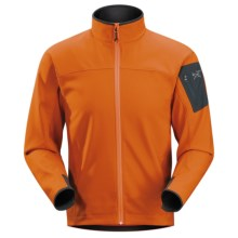 Arc'teryx Epsilon AR Jacket - Soft Shell (For Men) in Naranja - Closeouts