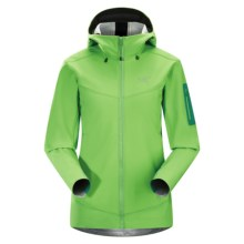 Arc'teryx Epsilon LT Hooded Jacket (For Women) in Midori Green - Closeouts