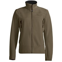 Arc'teryx Gamma AR Jacket - Polartec® Power Shield® (For Women) in Crocodile - Closeouts