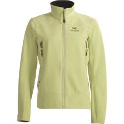 Arc'teryx Gamma AR Soft Shell Jacket - Polartec® Power Shield® (For Women) in Orchid