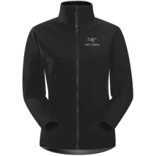 Arc'teryx Gamma LT Soft Shell Jacket (For Women) in Black - Closeouts