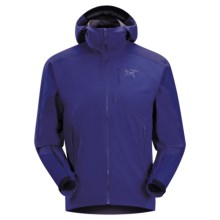 Arc'teryx Gamma SL Hybrid Hoodie Sweatshirt - Soft Shell (For Men) in Squid Ink - Closeouts