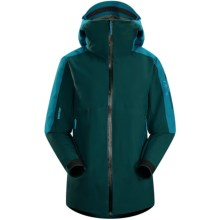 Arc'teryx Kamoda Gore-Tex® Jacket - Waterproof, Insulated (For Women) in Phaedon Green - Closeouts