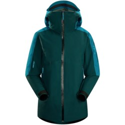 Arc'teryx Kamoda Gore-Tex® Jacket - Waterproof, Insulated (For Women) in Phaedon Green