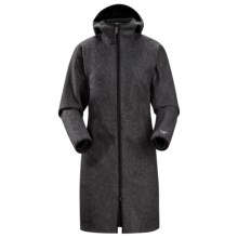Arc'teryx Lanea Long Coat (For Women) in Carbon Copy - Closeouts