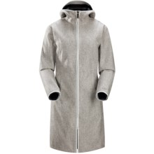 Arc'teryx Lanea Long Coat (For Women) in Snowy Owl - Closeouts