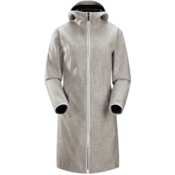 Arc'teryx Lanea Long Coat (For Women) in Snowy Owl
