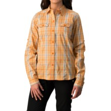 Arc'teryx Melodie Shirt - Long Sleeve (For Women) in Papaya - Closeouts