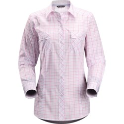 Arc'teryx Melodie Shirt - Long Sleeve (For Women) in White Lily