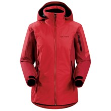 Arc'teryx Meta Gore-Tex® Jacket - Waterproof, Insulated (For Women) in Grenadine - Closeouts