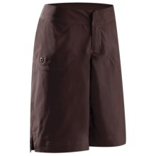 Arc'teryx Mischief Long Shorts (For Women) in Black Clay - Closeouts
