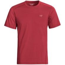 Arc'teryx Motus Crew T-Shirt - UPF 25, Short Sleeve (For Men) in Diablo Red - Closeouts