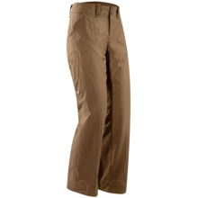 Arc'teryx Parapet Pants (For Women) in Nubian Brown - Closeouts