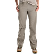 Arc'teryx Parapet Pants - UPF 50 (For Women) in Chalk Stone - Closeouts