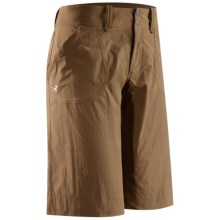 Arc'teryx Parapet Shorts (For Women) in Nubian Brown - Closeouts