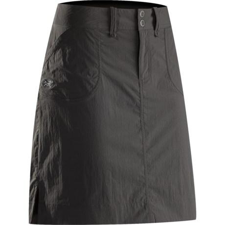Arc'teryx Parapet Skirt (For Women) in Graphite
