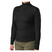 Arc'teryx Rho LTW Base Layer Top - Merino Wool, Zip Neck, Long Sleeve (For Women) in Black - Closeouts