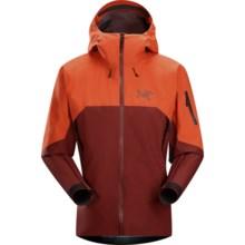 Arc'teryx Rush Gore-Tex® Jacket - Waterproof, Hooded (For Men) in Cherokee Brick - Closeouts