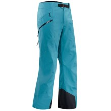 Arc'teryx Sabre Gore-Tex® Pro Pants - Waterproof (For Men) in Blue Python - Closeouts