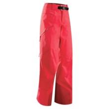 Arc'teryx Sentinel 13 Gore-Tex® Pants - Waterproof (For Women) in Dragon Fruit - Closeouts