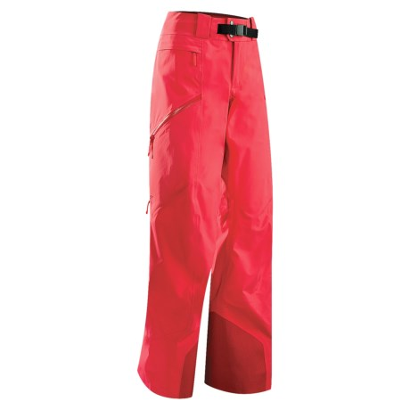 Arc'teryx Sentinel 13 Gore-Tex® Pants - Waterproof (For Women) in Dragon Fruit