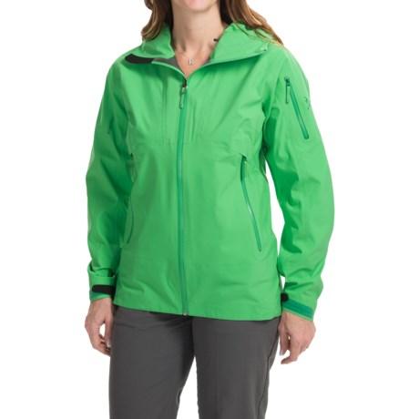 Arc'teryx Sentinel Gore-Tex® Jacket - Waterproof (For Women) in Lime Fizz