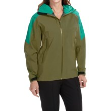 Arc'teryx Sentinel Gore-Tex® Jacket - Waterproof (For Women) in Utility Green - Closeouts