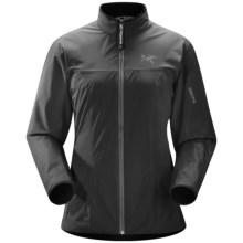 Arc'teryx Solano Windstopper® Jacket (For Women) in Black - Closeouts