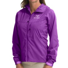 Arc'teryx Squamish Hooded Jacket (For Women) in Ultra Violette - Closeouts