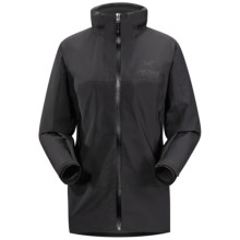 Arc'teryx Theta Sl Hybrid Gore-Tex® PacLite® Shell Jacket - Waterproof (For Women) in Black - Closeouts