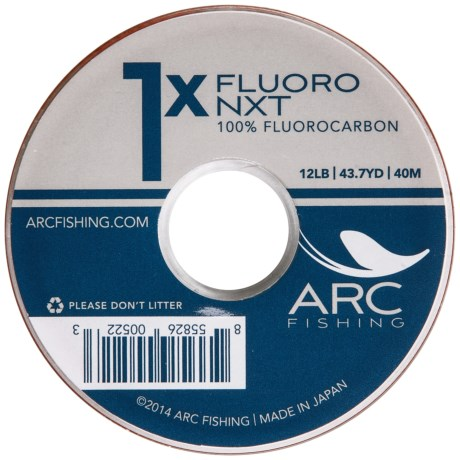 Arc Fishing ARC Fishing Fluoro NXT Fly Fishing Tippet in See Photo