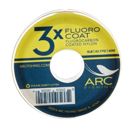 ARC Fishing Fluorocoat Fly Fishing Tippet - 43.7 yds. in See Photo