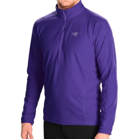 Arcteryx Delta LT Polartec(R) Fleece Shirt Zip Neck (For Men)